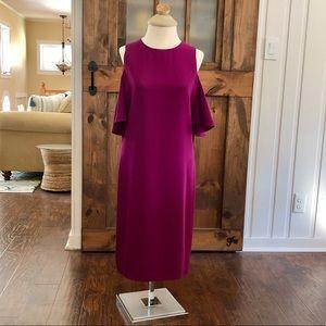 Ralph Lauren dress in Berry Jam color, size 12